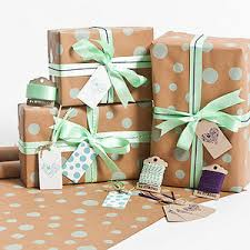 mint wrapping paper s day wrapping paper notonthehighstreet