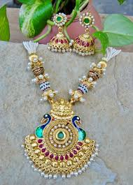 long necklace fashion jewelry images One gram gold jewellery latest jewelry designs jewellery designs jpg
