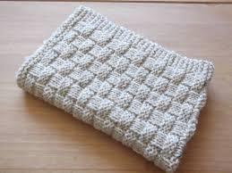 knitting pattern quick baby blanket knitting pattern quick and easy basket weave baby blanket ebay