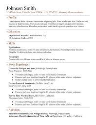 simple professional resume template simple resume template free download free resume example and resume example for freshers download template 5 doc