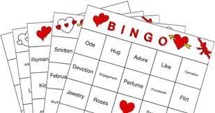 valentine u0027s bingo cards a valentines bingo collection