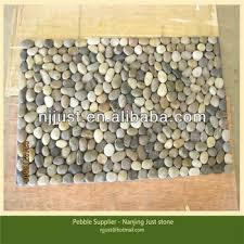Pebble Stone Rug Colorful Short Pebble Mat Pebble Stone Floor Mat With Pebble Rugs