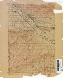 Yakima Washington Map by Txu Pclmaps Topo Wa Zillah 1906 Jpg
