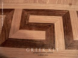 no 16 the key hardwood floor border detail view pavex