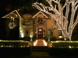 wrapped tree lights dallas landscape lighting
