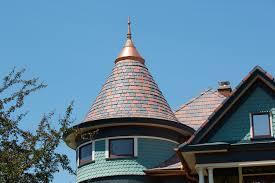 Roof Finials Spires by Vintage Home Gets Custom Color Roof Davinci Roofscapes