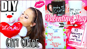 Valentine S Day Homemade Gift Ideas by Diy Valentines Day Gift Guide For Friends Family Boyfriend Etc