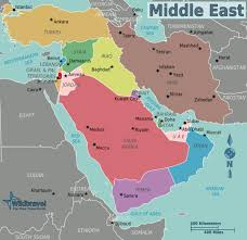 middle east map india middle east wikitravel