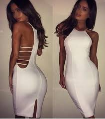 white bodycon dress club dresses 2015 women white bodycon dress