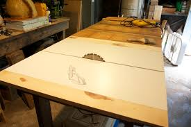 how to build a table saw workstation diy table saw ndw design blog