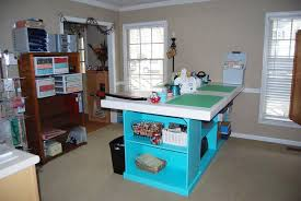 Craft Room Tables - winners of the craft room makeover contest think crafts by