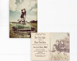 postcard wedding invitations vintage postcard wedding invitations 5x7 wedding invitations