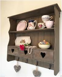 Kitchen Bookshelf Ideas by White Shabby Chic Wall Shelf Unit For Shabby Chic Bookshelf Ideas
