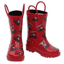 case ih home decor case ih big red kids u0027 rain boot