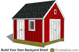 Hip Roof Barn Plans 12x12 Gambrel Shed Plans 12x12 Barn Shed Plans