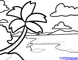 tropical beach coloring pages coloring pages printable free awesome drawing pictures for kids