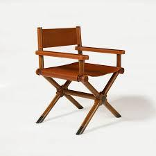 siege metteur en chaise classique de metteur en scène en cuir director ralph
