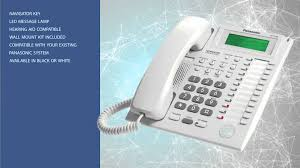 panasonic kx t7735 business phone youtube
