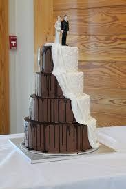 wedding cake shop two tone wedding cake gluten free chocolate cake with choc flickr