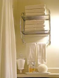 Bathroom Towel Hanging Ideas Mesmerizing Bathroom Towel Decor Ideas Medium Size Of Bathroom