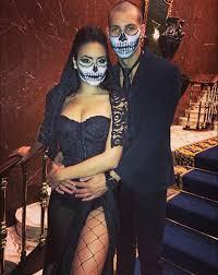Hugh Hefner Playboy Bunny Halloween Costume 50 Awesome Couples Halloween Costumes Couple Halloween
