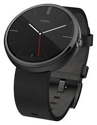 amazon com motorola moto 360 modern timepiece smart watch black
