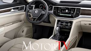 vw atlas suv 2017 volkswagen atlas l interior youtube