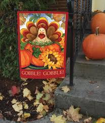 Fall Garden Flag Amazon Com Toland Autumn Turkey Decorative Thanksgiving Fall