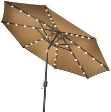 patio umbrella with solar led lights patio umbrella with solar lights awesome and strong camel 9 new