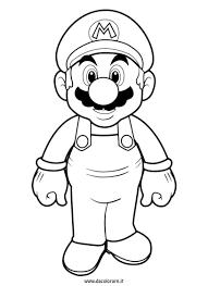 Coloriage à imprimer  Personnages célèbres  Nintendo  Super Mario
