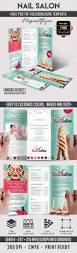 nail u2013 free tri fold psd brochure template u2013 by elegantflyer