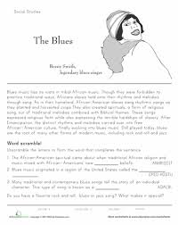 history of jazz free worksheets worksheets and musicians