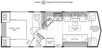 class a rv floor plans lazy daze floor plans