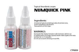 how long does tattoo numbing cream take to work numquick pink tattoo numb cream water based tattoo numbing spray