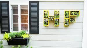 wall mounted planters shirley bovshow u0027s diy wall monogram planter youtube