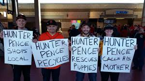 Hunter Pence Memes - giants players reveal their favorite hunter pence signs mlb com