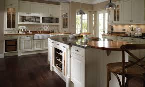 fetching l shape kitchen featuring cream color kitchen cabinets