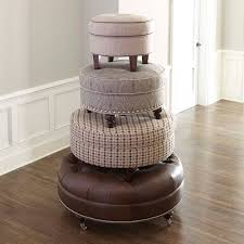 custom round ottoman bassett furniture