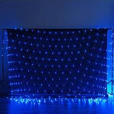 20 x 10 twinkle in the led lights for backdrops blue