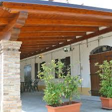 tettoie in legno e vetro vetrate e verande coibentate chiusura di porticati