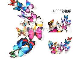PVC 3d Butterfly wall decor – Any Season