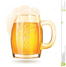 beer vector mug of beer isolated on a white background stock vector image