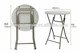 round plastic folding tables 80cm round plastic banquet bar hotel folding table cocktail tables