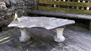 concrete benches and table ideas gallery
