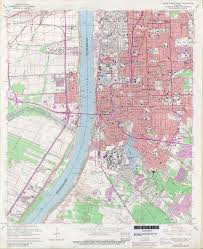 map of baton louisiana topographic maps perry castañeda map collection ut