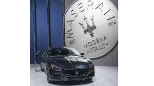 maserati trident logo maserati debuts nerissimo package with stealthy look in l a