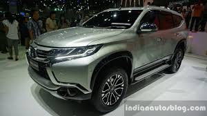 mitsubishi sports car 2016 mitsubishi pajero sport launch in south africa in early 2016