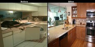 Refacing Cabinets Before And After Kitchen Amazing Kitchen Cabinet Resurfacing Design Sears Cabinet