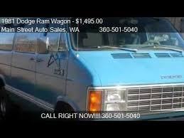 dodge maxi 1981 dodge ram wagon b350 maxi for sale in longview wa 98
