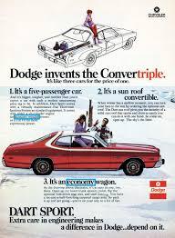 1974 dodge dart hang ten 1960 1975 dodge dart tv ads